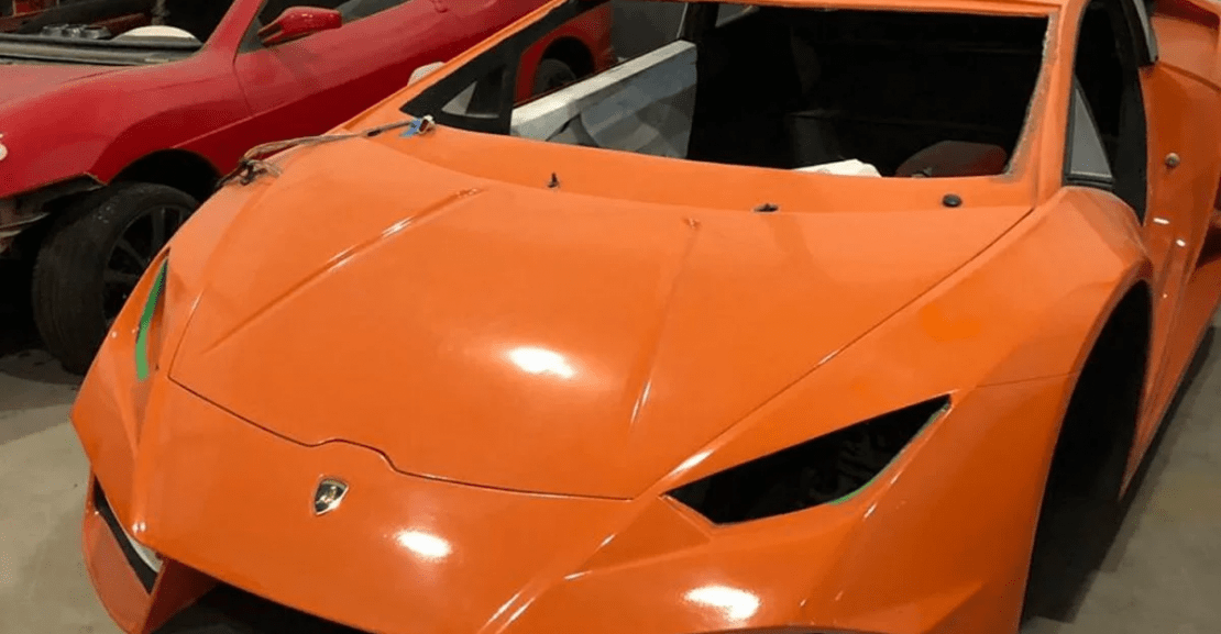 Fake Ferrari and Lamborghini Factory