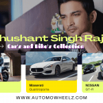 Shushant Singh Rajput Cars and Bike Collection